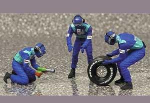 Sauber Pit Stop 2002 Rear tire change se  (Vista 1)