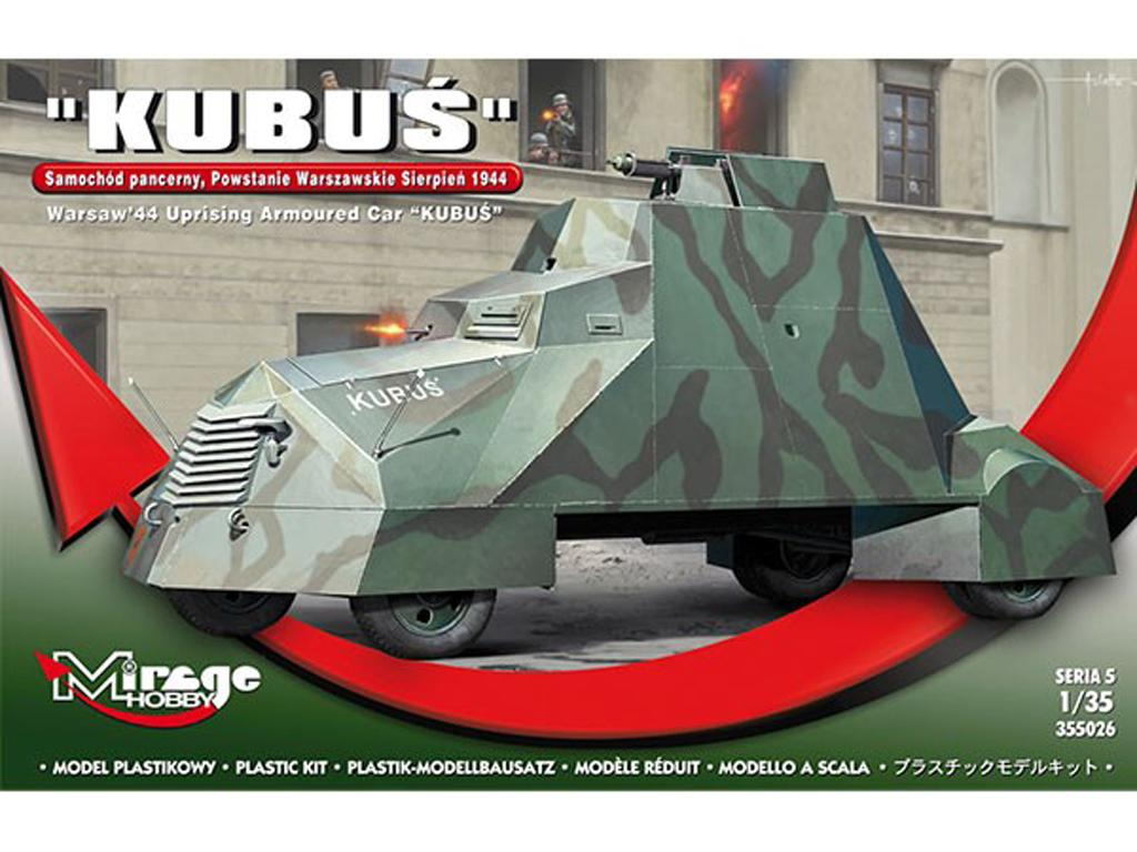 Kubus armored car Warsaw Revolt August 1