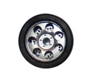 Llantas R1 con neumático S1 y discos de  (Vista 1)
