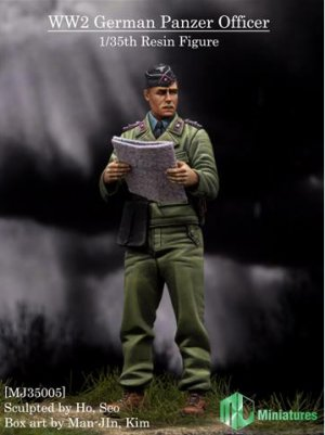 German Panzer Officer  (Vista 1)