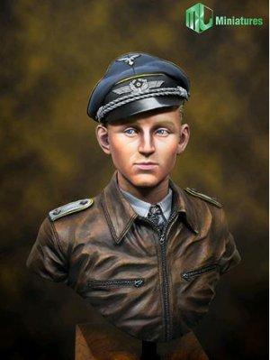 Lufftwaffe Ace Pilot in WW2, Erich Hartm  (Vista 1)