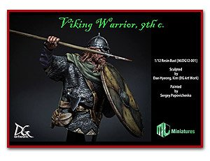 Viking Warrior, 9th C.  (Vista 1)