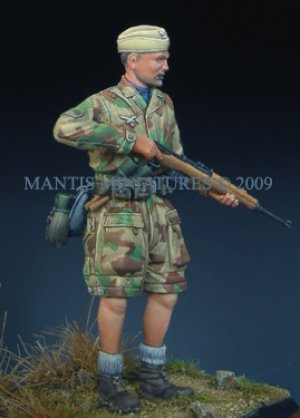 German Paratrooper - Italy 1944   (Vista 3)