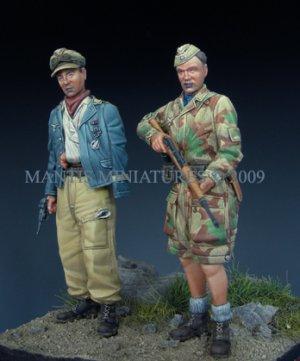German Paratroopers - Italy 1944   (Vista 2)
