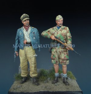 German Paratroopers - Italy 1944   (Vista 3)
