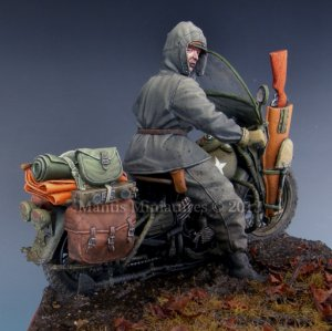 US Motorcycle WLA Rider  (Vista 2)