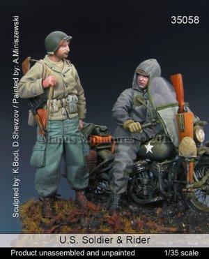 US Soldier & Rider   (Vista 1)
