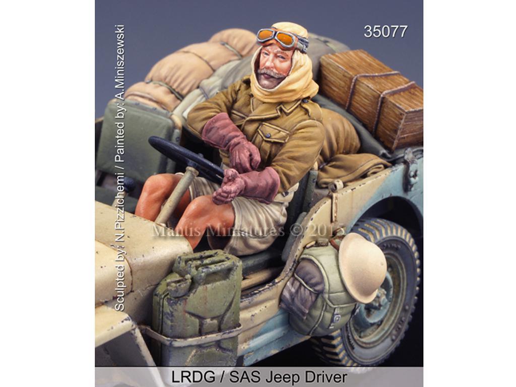 LRDG/SAS Jeep Conductor (Vista 1)