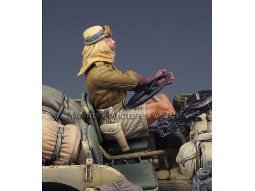 LRDG/SAS Jeep Conductor (Vista 2)