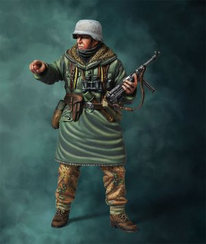 WWII German SS Officer  (Vista 5)