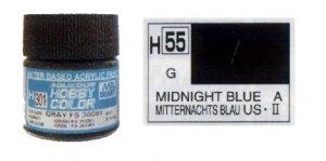 Azul noche brillante  (Vista 1)