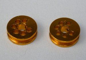 Polea Alumino mecanizado 6.5mm diam. par  (Vista 1)