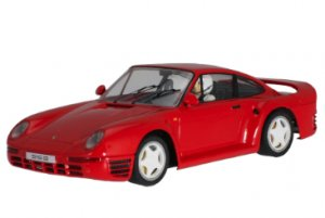 Porsche 959 Rojo Street Car.  (Vista 1)