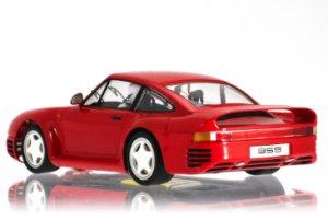 Porsche 959 Rojo Street Car.  (Vista 2)