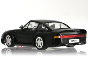 Porsche 959 black Street Car  (Vista 2)