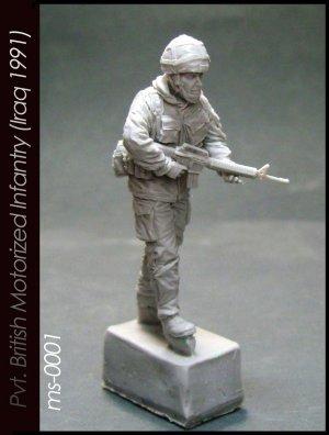 Pvt. British Motorized Infantry   (Vista 1)