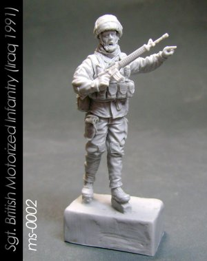 Sgt. British Motorized Infantry   (Vista 1)