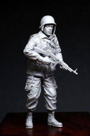 Sgt. 101st Airborne Division (1944-45)  (Vista 1)