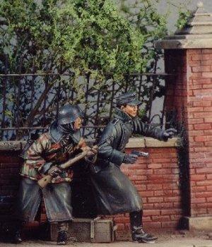 Soldados alemánes - 1944 Ardenas  (Vista 1)