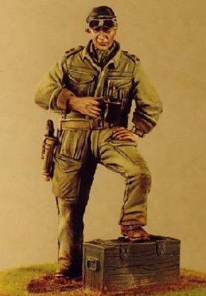 Oficial de Blindados Britanico  (Vista 1)