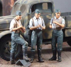 Infanteria Alemana Descansando 1940  (Vista 1)