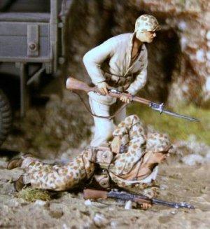 US Marines Corps a Tarawa 1943  (Vista 1)