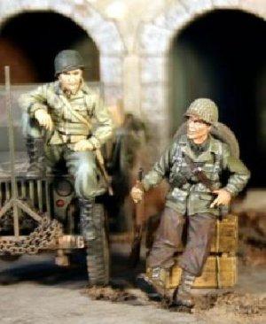 Soldados US descansando  (Vista 1)