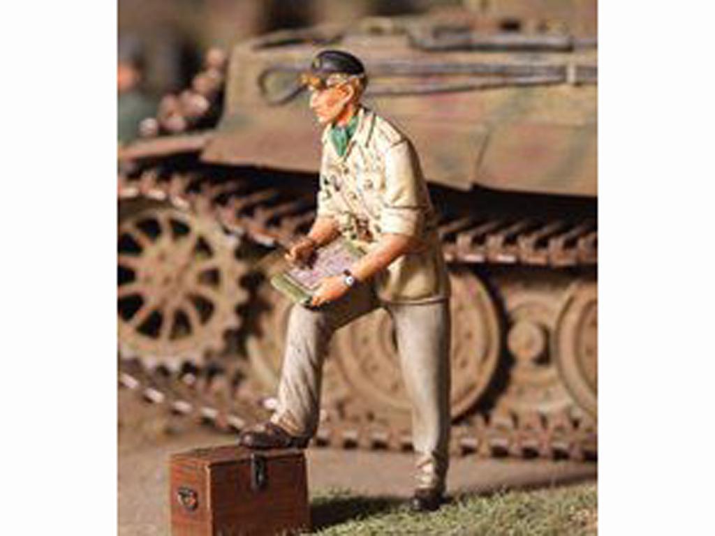 Oficial Tanquista Britanico 1943-44 (Vista 1)