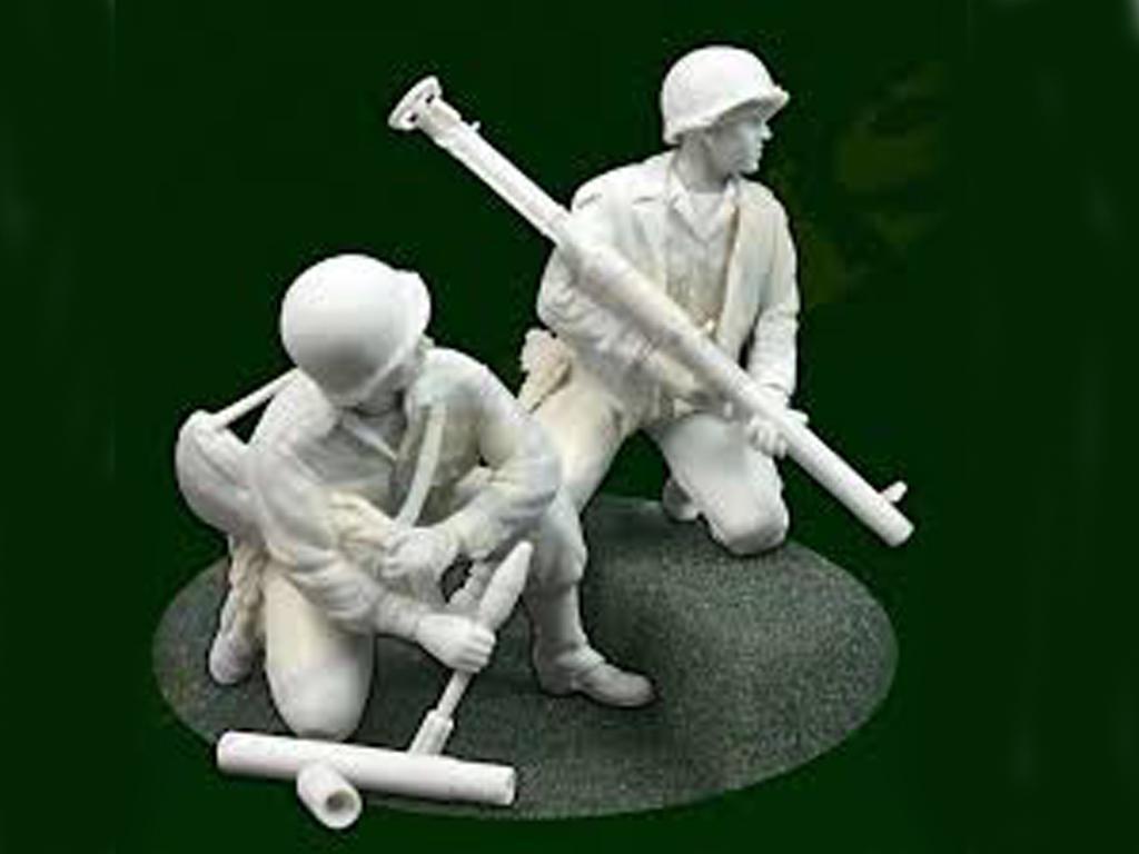Equipo de bazooka de los EE.UU. (Vista 1)