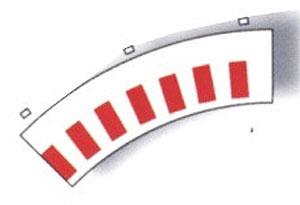 Borde interior curva standard  (Vista 1)