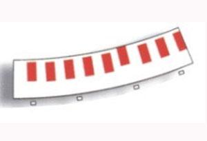 Borde interior curva exterior  (Vista 1)