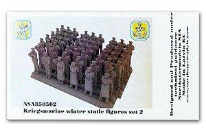 Kriegsmarine winter static figures set 2  (Vista 1)