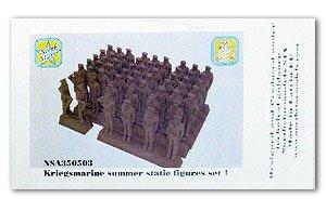 Kriegsmarine summer static figures set 1  (Vista 1)