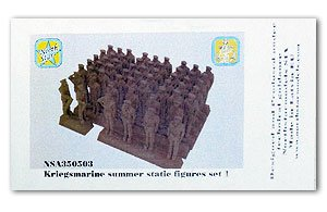 Kriegsmarine summer static figures set 2  (Vista 1)
