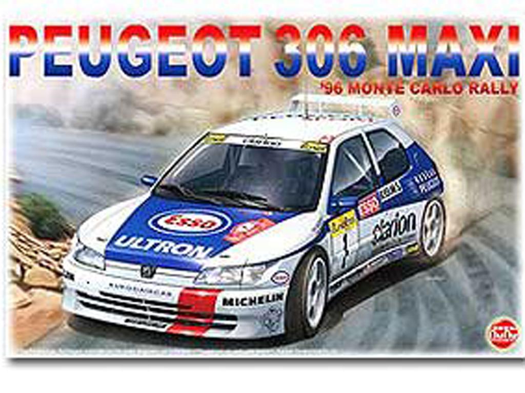 Peugeot 306 Maxi 1996 Rally Monte Carlo (Vista 1)