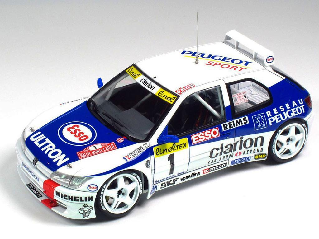 Peugeot 306 Maxi 1996 Rally Monte Carlo (Vista 3)