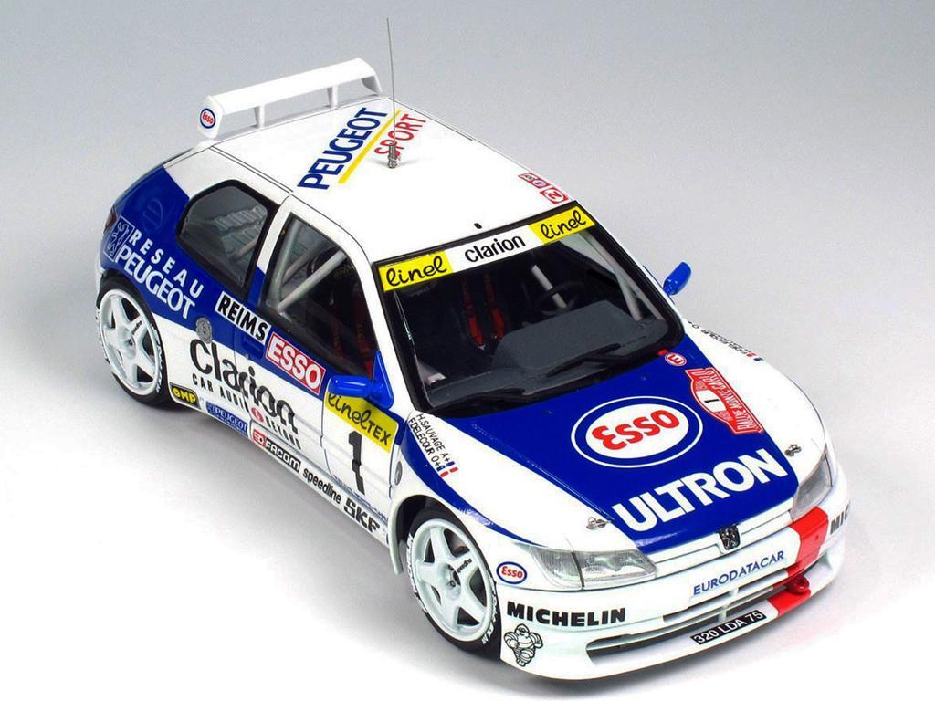 Peugeot 306 Maxi 1996 Rally Monte Carlo (Vista 4)