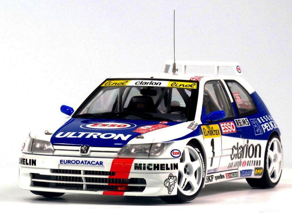 Peugeot 306 Maxi 1996 Rally Monte Carlo (Vista 7)