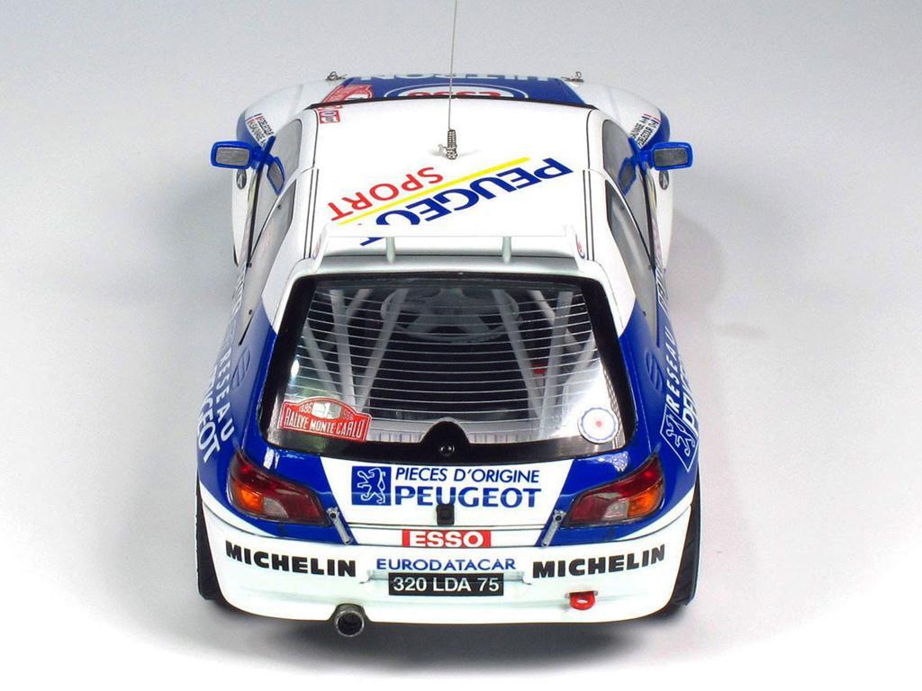 Peugeot 306 Maxi 1996 Rally Monte Carlo (Vista 8)
