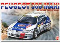 Peugeot 306 Maxi 1996 Rally Monte Carlo (Vista 9)