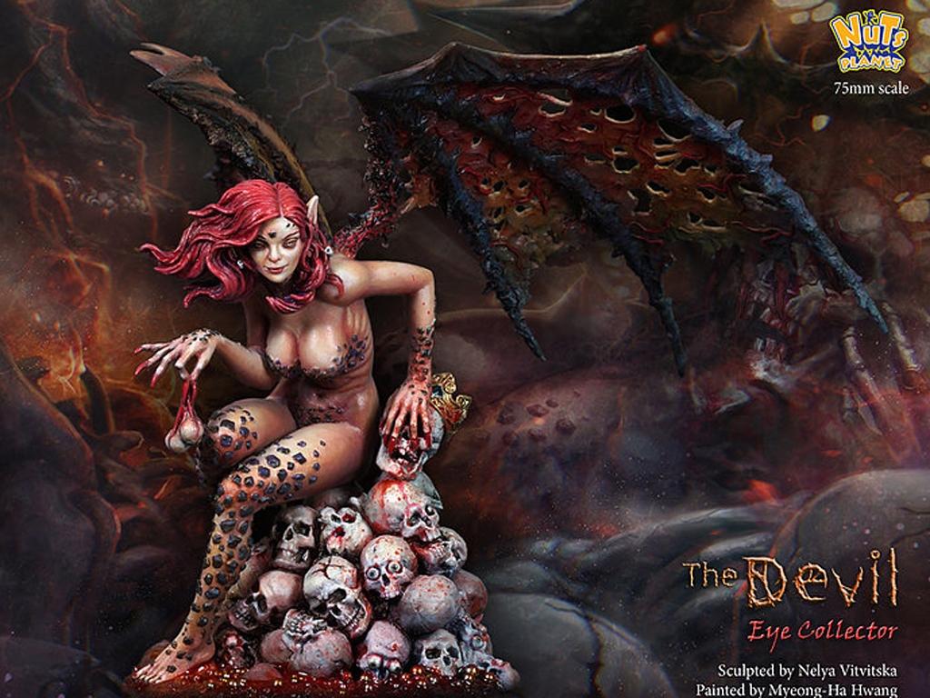 The Devil, Human eye collector  (Vista 2)
