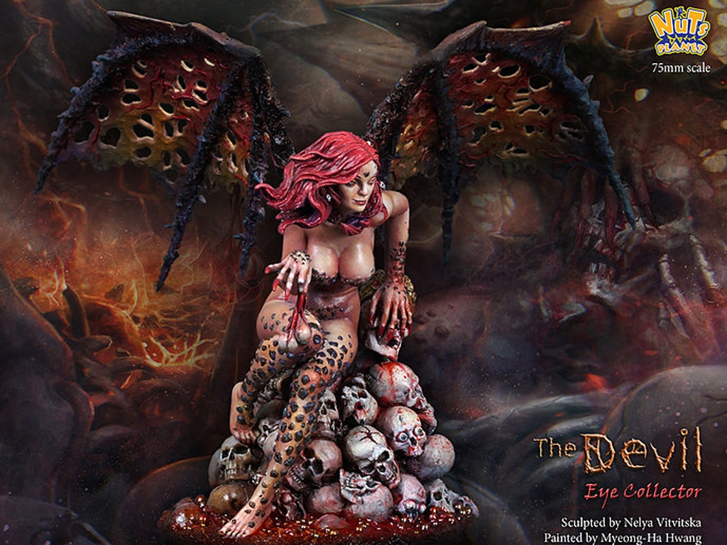 The Devil, Human eye collector  (Vista 3)