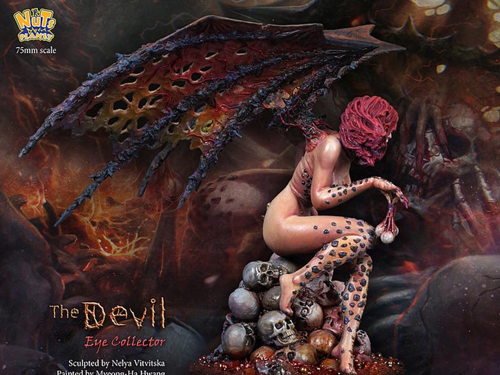 The Devil, Human eye collector  (Vista 4)