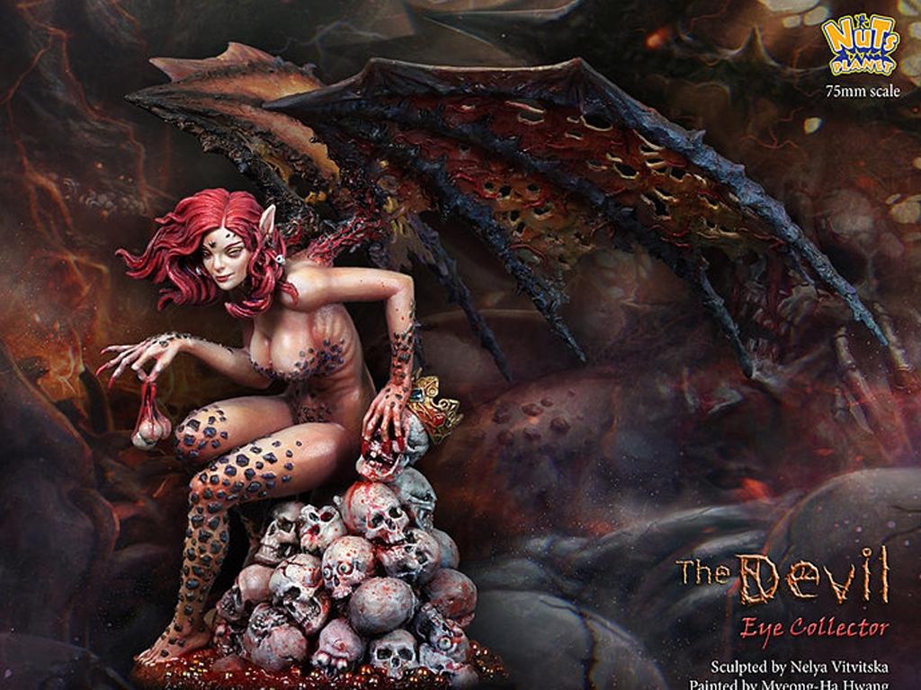 The Devil, Human eye collector  (Vista 5)