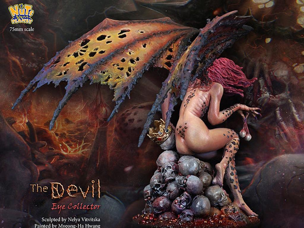 The Devil, Human eye collector  (Vista 6)