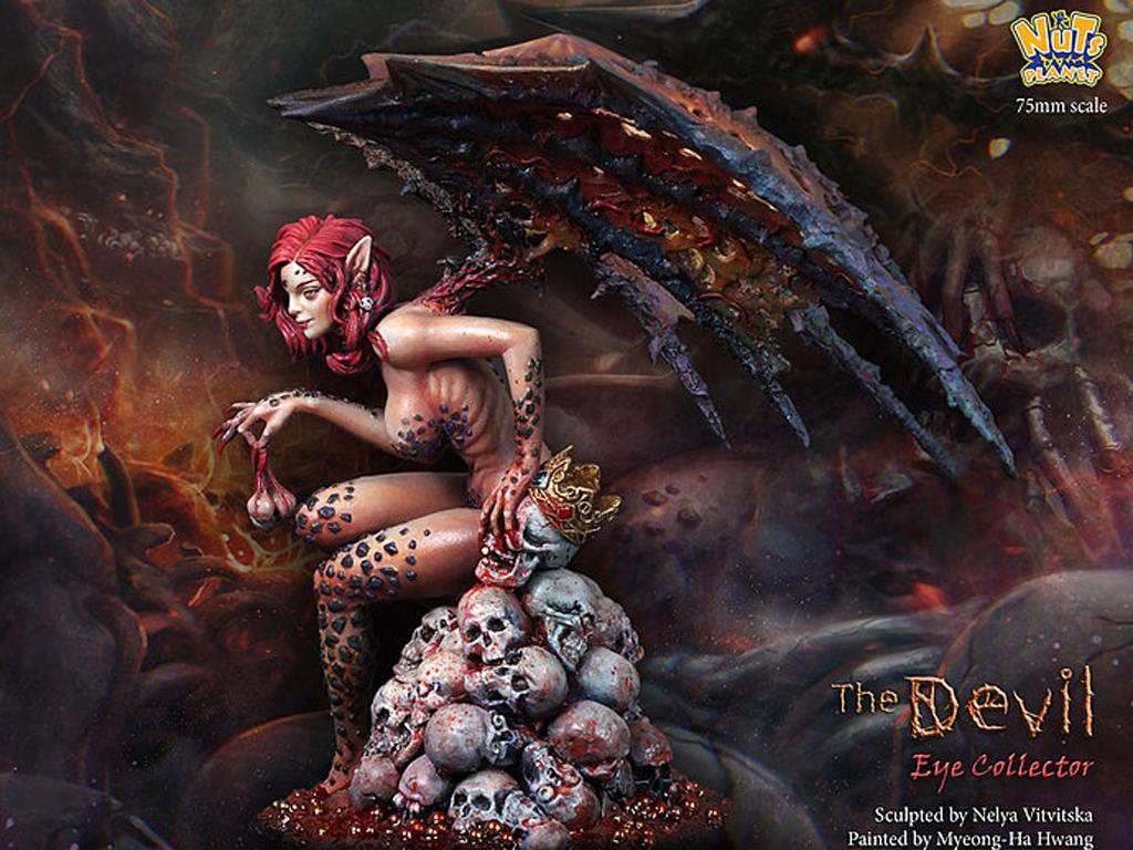The Devil, Human eye collector  (Vista 8)