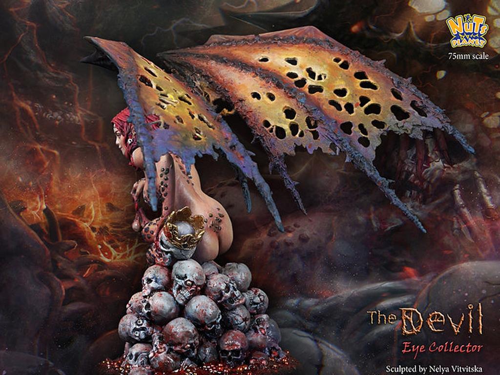 The Devil, Human eye collector  (Vista 9)
