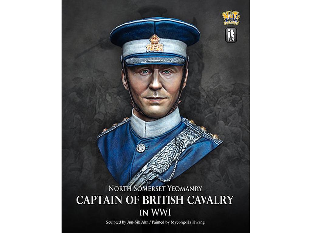 Capitán de la Caballería Británica en la  (Vista 1)