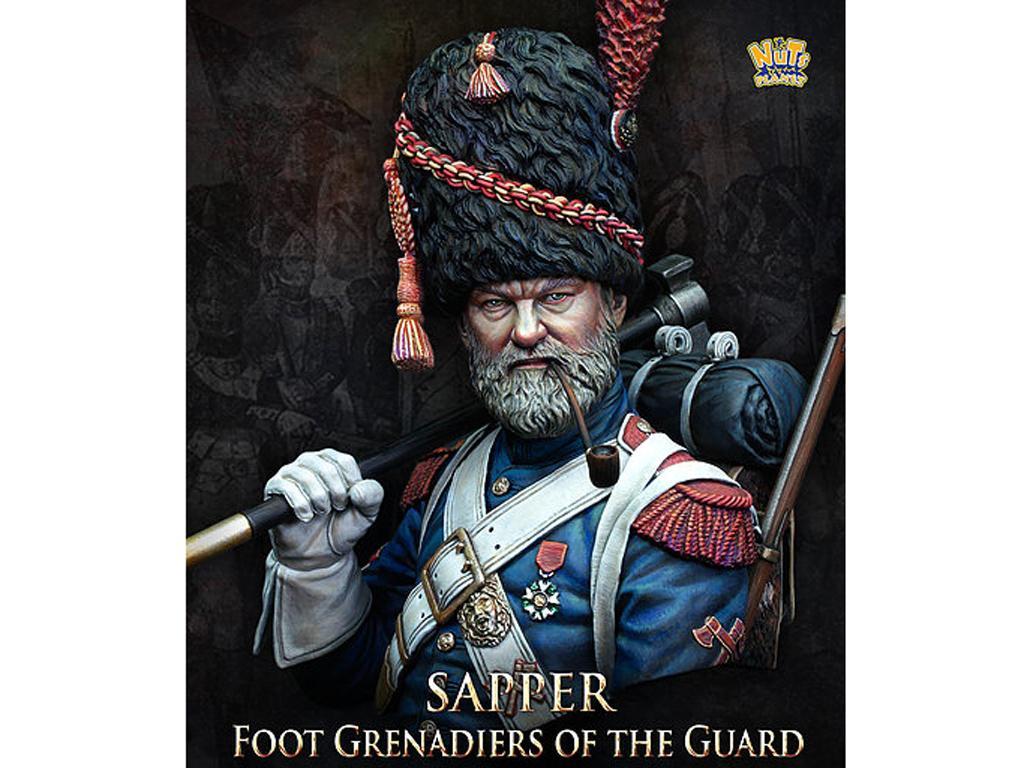 Sapper Foot Granadier of the Guard (Vista 1)