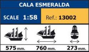 Cala Esmeralda - Goleta de Velacho  (Vista 6)